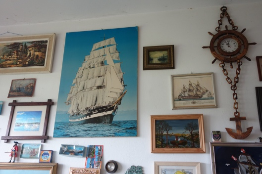 Part of the Galley Gallery collection, the Krusschtern ship and some other gems.